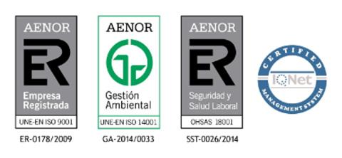 Renovación de certificaciones AENOR_baja